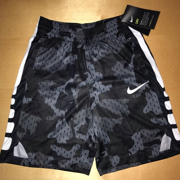 NIke Dry Youth Boys Athletic Set Camo Shirt /& Shorts Medium Dri-Fit NWT 10-12